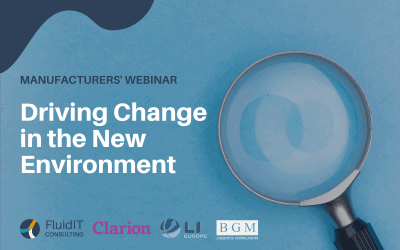 Driving Change in the New Environment